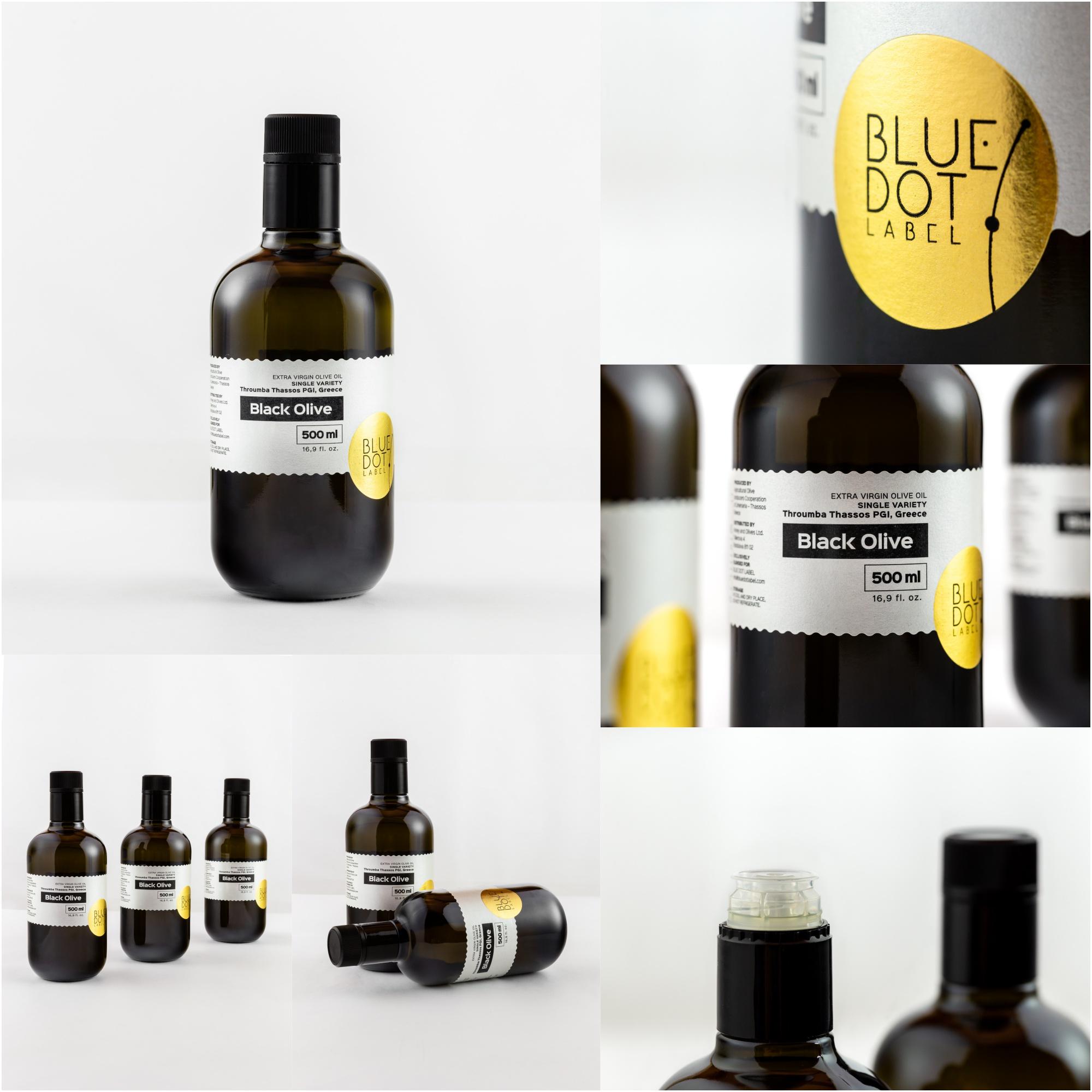 Produktové fotografie olivového oleje.
