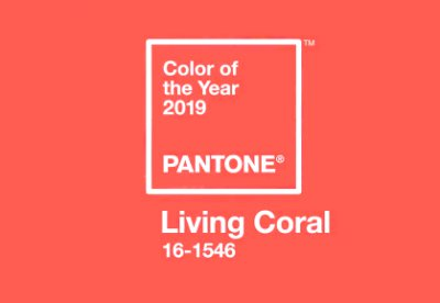 Living Coral, barva roku 2019.