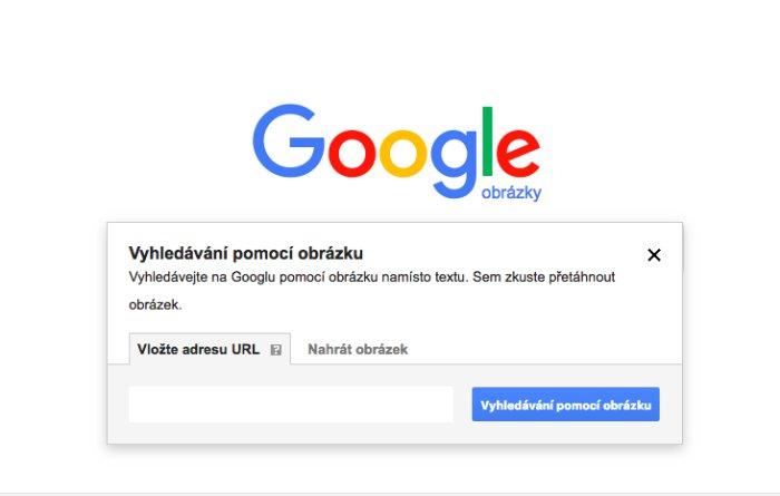 Vyhledávač obrázků Google Images.