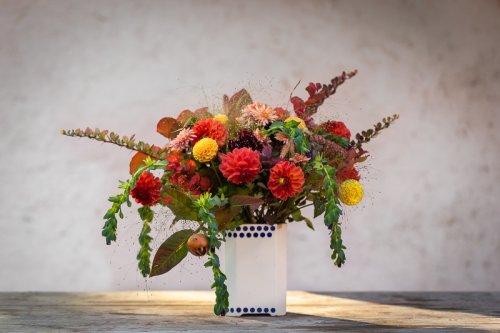 Vázaná kytice.