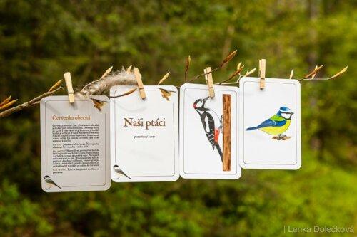 Výukové karty Příroda do kapsy.